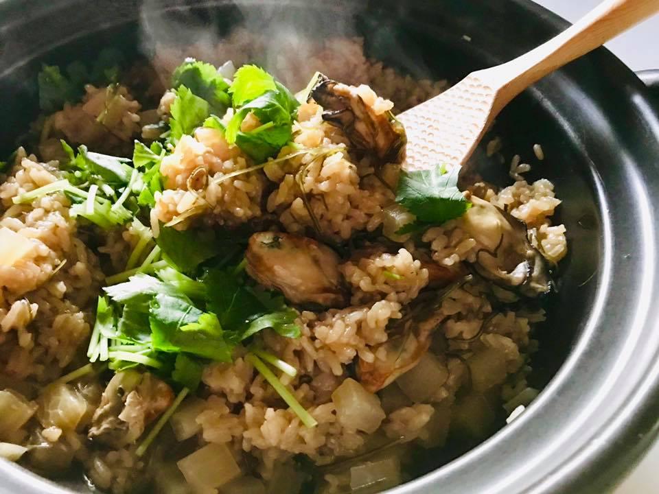 【デトックスレシピ】炊飯器でOK!牡蠣と焼き大根の炊きこみご飯