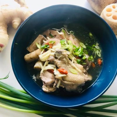 【スタミナレシピ】炊飯器で簡単!根野菜の体ぽかぽかサムゲタン